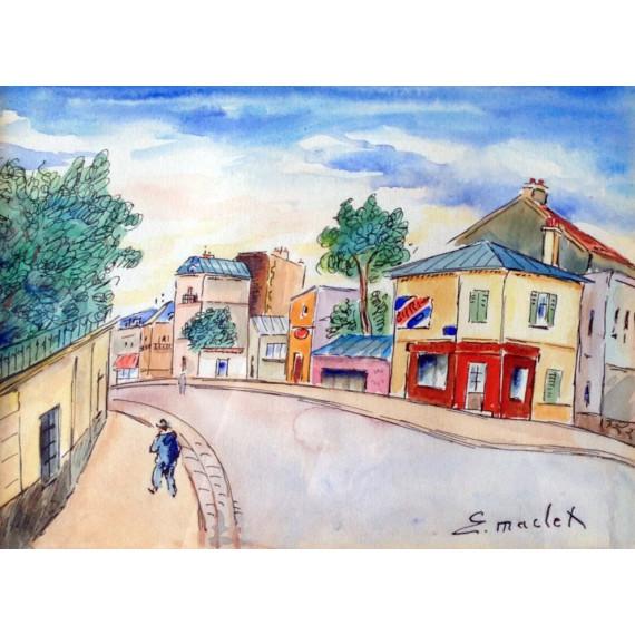 Rue de village maclet