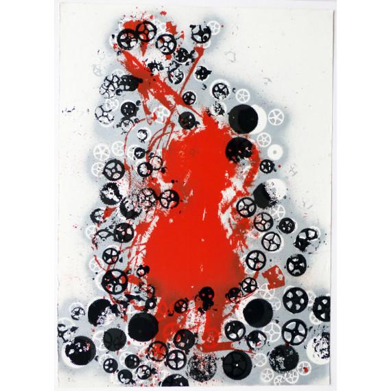 Arman - Red violon
