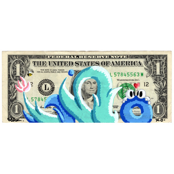 1 US Dollar - Federal reserve note