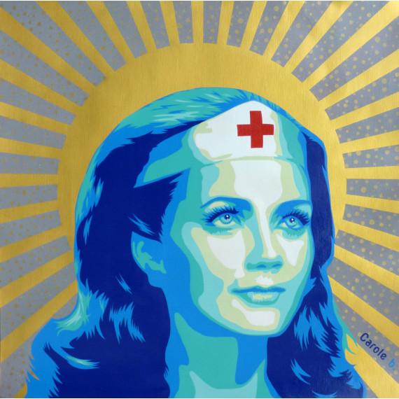 Wonder Woman Infirmière -carole-b