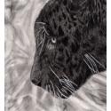 Drawing - Black jaguar