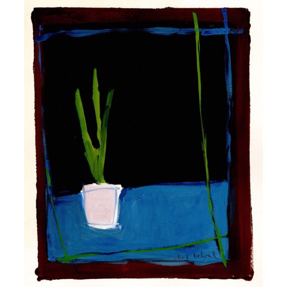 Jacinthe 1984 -robert-delval-original-artwork