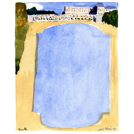 Versailles 1980 -robert-delval-oeuvre-originale