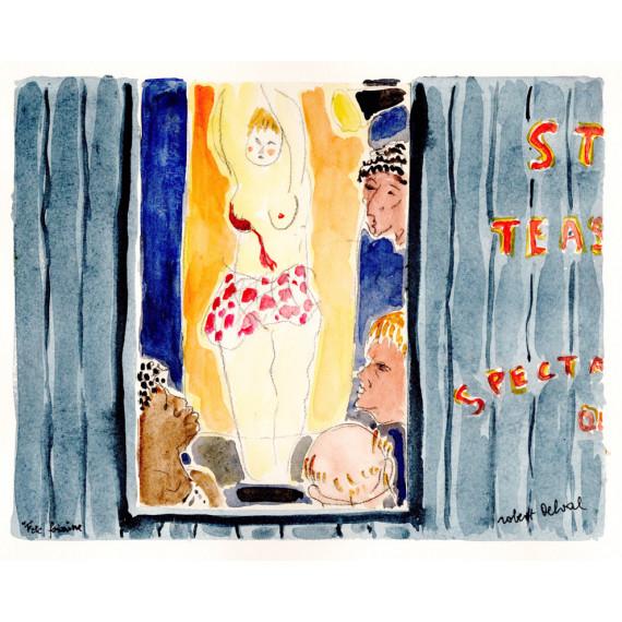 Strip tease à la Fête Forraine 1987