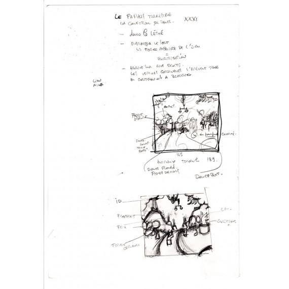 La Divine Comédie : Book + Print + Sketch N°4