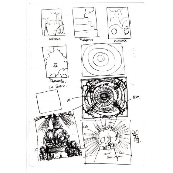 La Divine Comédie : Le livre + La Digigraphie + Croquis 5