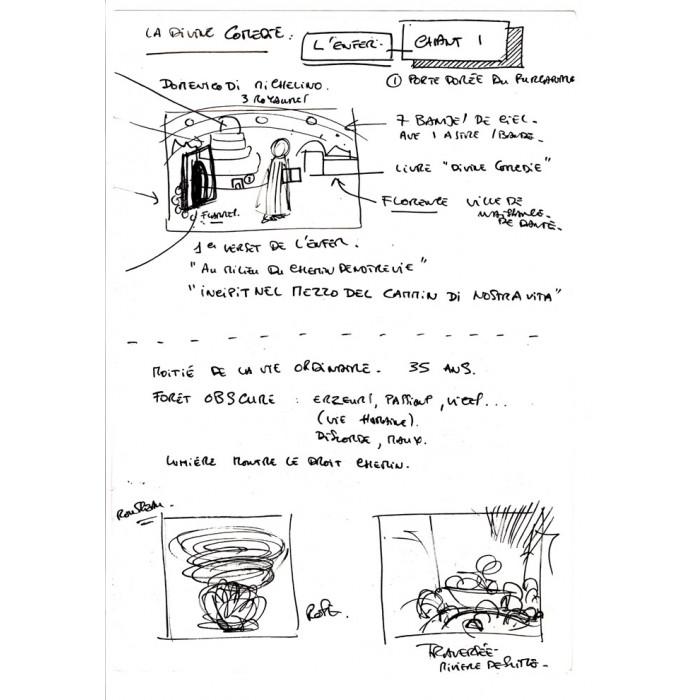 La Divine Comédie : Le livre + La Digigraphie + Croquis 6