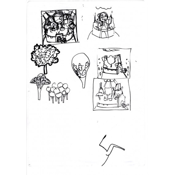 La Divine Comédie : Book + Print + Sketch N°10