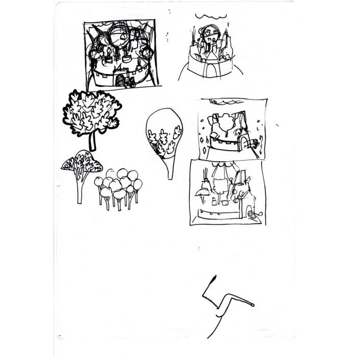 La Divine Comédie : Le livre + La Digigraphie + Croquis 10