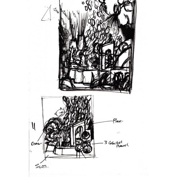 La Divine Comédie : Book + Print + Sketch N°11