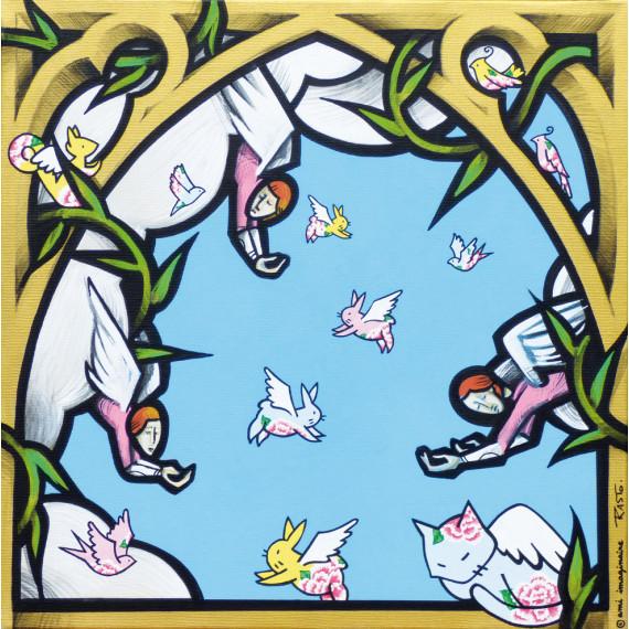 LE PARADIS - avec AMI IMAGINAIRE - Esprits Aimants -jerome-rasto