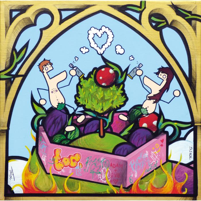 LE PARADIS - avec TOCTOC - Les Duduss et l'arbre de la connaissance