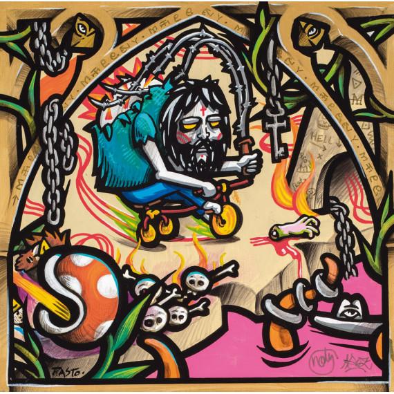 L'ENFER - avec NOTY AROZ - La Porte de l'Enfer -jerome-rasto