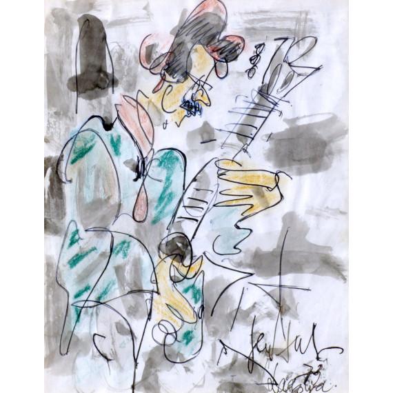 Le Guitariste Lagoya par gen paul