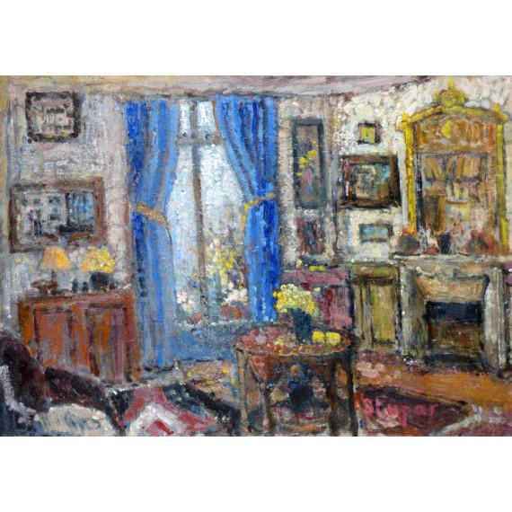 Inside a parisian appartment
