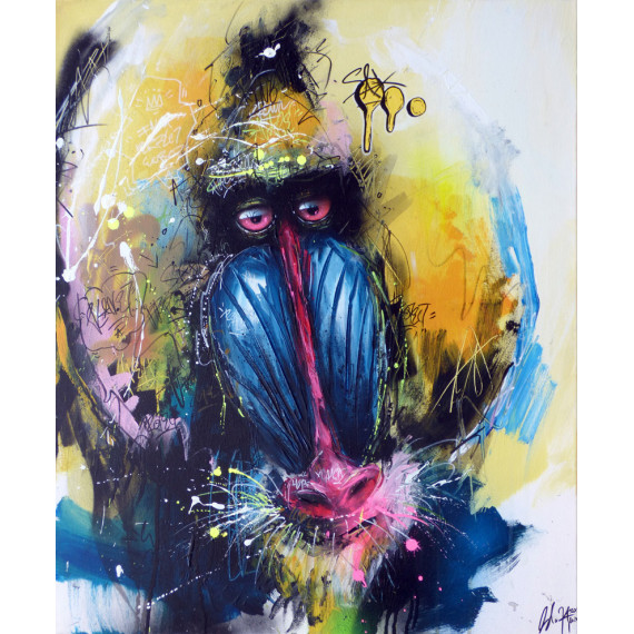 urban-Mandrill-by-henry-blache-sax-street-urban-art