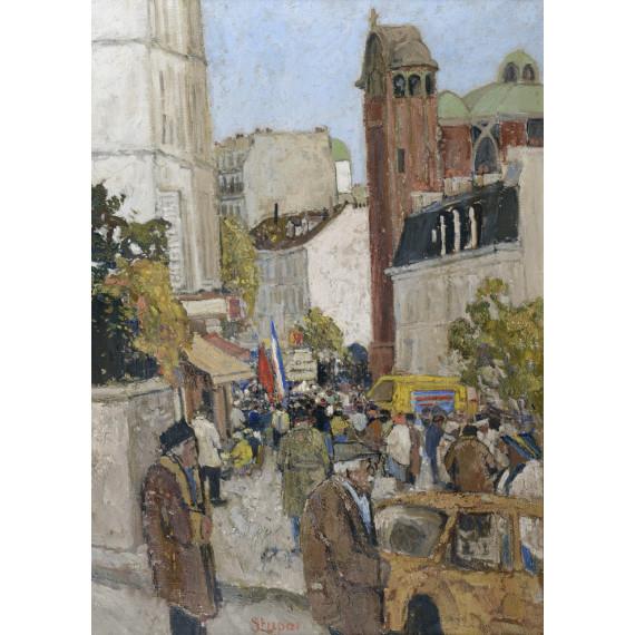 Les Abbesses à Montmartre