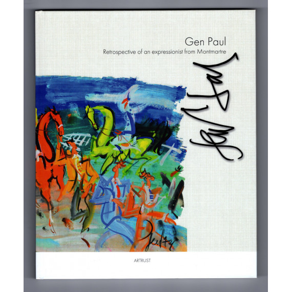 Book Gen Paul Retrospective of an expressionist in Montmartre GB