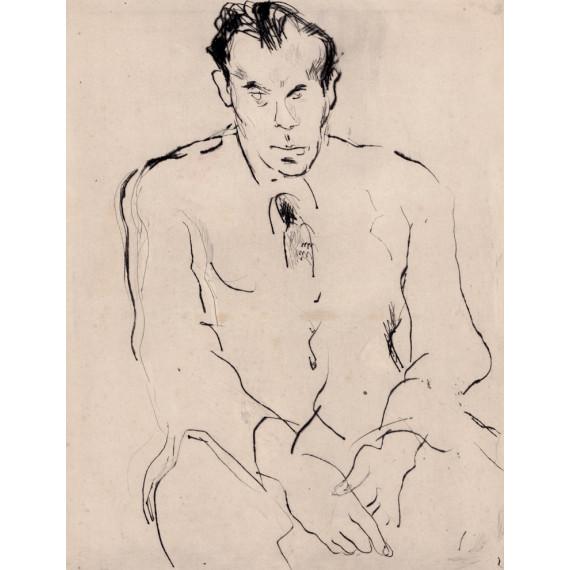 Gravure : Louis Ferdinand Céline par Gen Paul