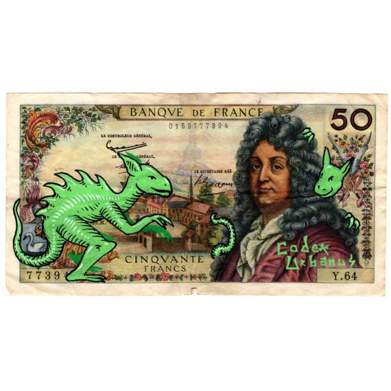 50 Francs Banque de France-codex-urbanus