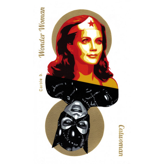 Carole b. - Wonder Woman / Catwoman