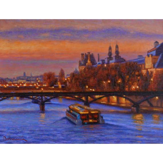 Coucherde Soleil sur la Seine