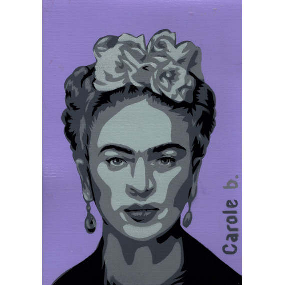 Frida! Unique stencil