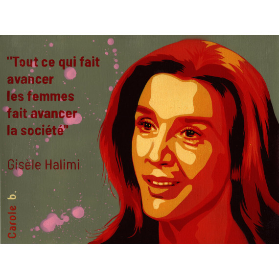 Everything that advances women advances society - Gisèle Halimi