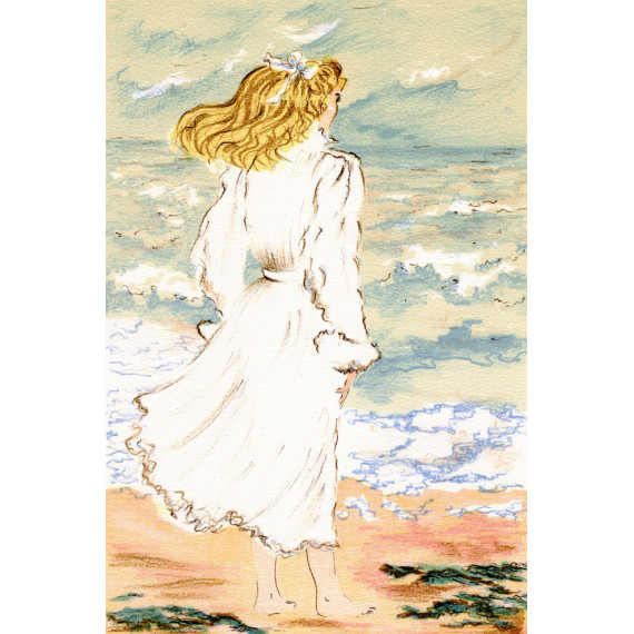 Claude Montoya - The young woman who looks at the sea
