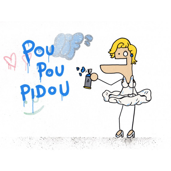 Pou Pou Pidou - Marilyn Monroe Duduss
