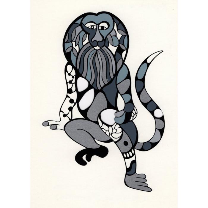 Niki de Saint-Phalle - Sérigraphie Singe