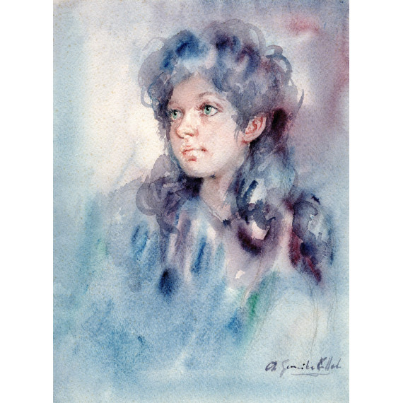 La jeune fille Antonio GONZALEZ COLLADO