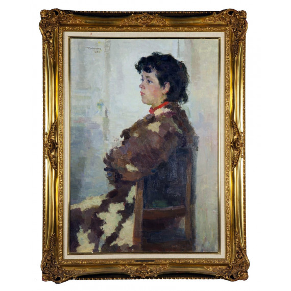 Gregorii Jsrailjew ZEITLINA - Portrait de Jeune Fille 1952