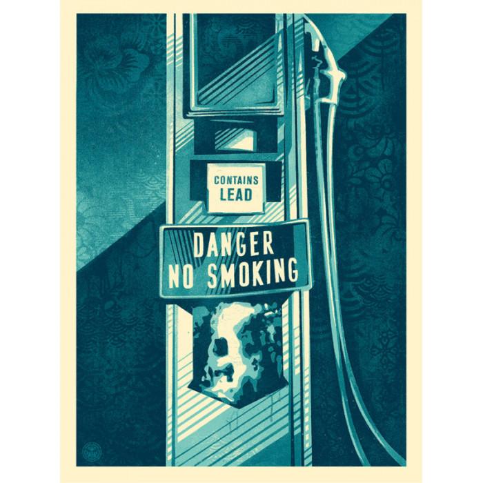 Shepard Fairey - Obey - DANGER NO SMOKING