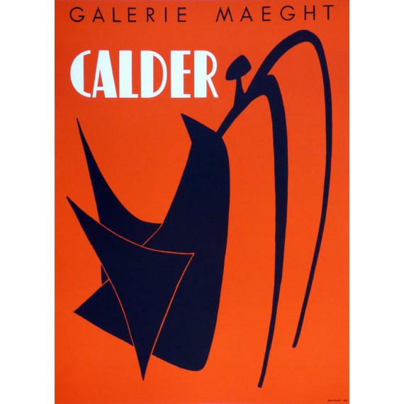 Alexander CALDER - Affiche originale en lithographie 1959
