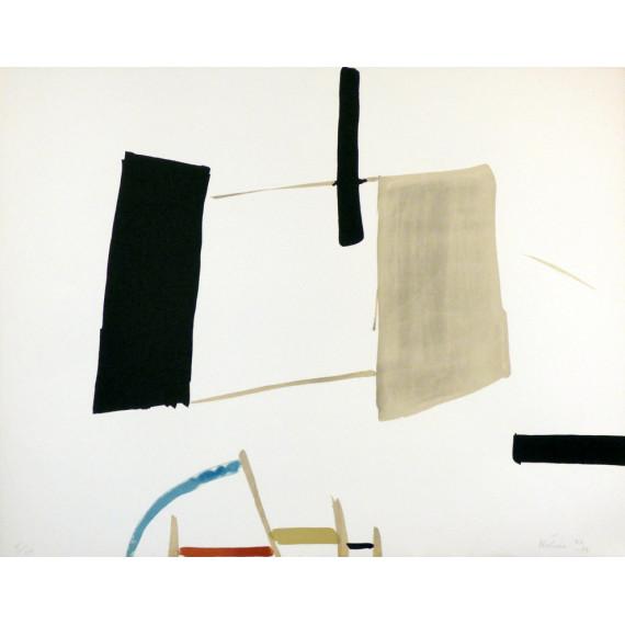 Jean HÉLION - Lithographie - Équilibre 1932