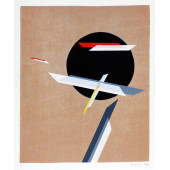Lazlo Moholy dit NAGY - Lithograph - Construction 1932