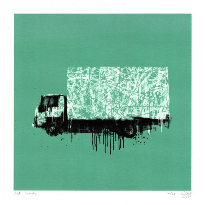 Édition limitée - Art Truck graffmatt
