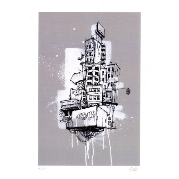 Édition limitée - Urban Totem graffmatt