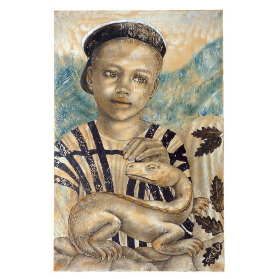 Akelo - Peinture -Jeux d'enfants - François