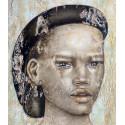 Akelo - Peinture - Jeune homme à la casquette noire