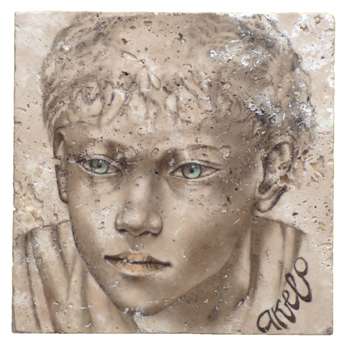 Akelo - Peinture - Petits Gavroches - Patrick