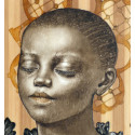 Akelo - Peinture - Vision Architecturale - Église de Léonard de Vinci