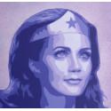 Carole B. - Wonder Woman - Liberty Equality Femininity