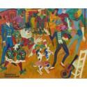 Maurice Blanchard - Les deux chiens au cirque