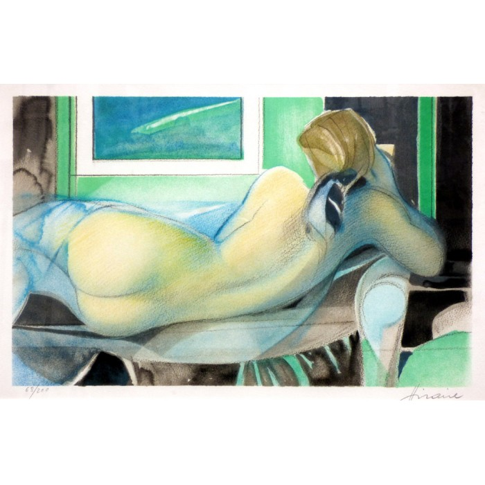 Camille Hilaire - Reclining nude
