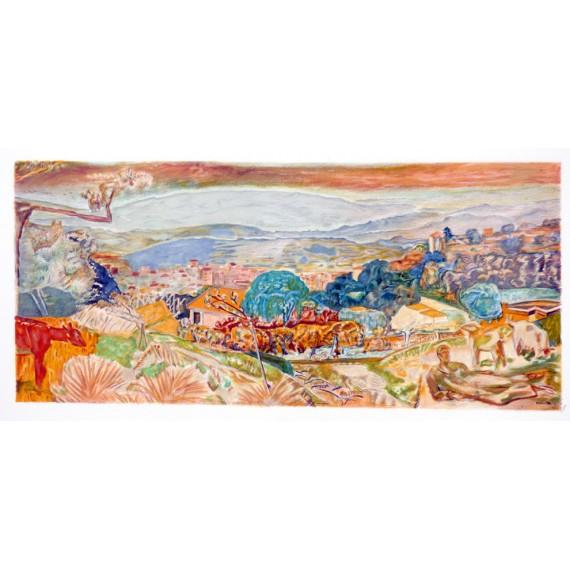 Pierre Bonnard - Lithographie d'interprétation des ateliers Mourlot