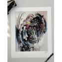 Henry Blache Artist Street Art SAX - Édition limitée : Urban Gorilla III