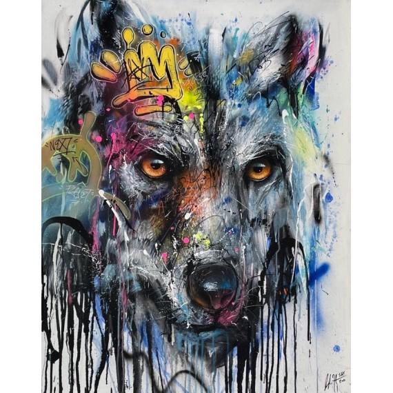 Sax - Peinture - Urban Wolf