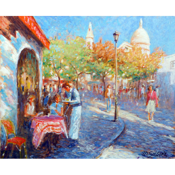 The Boheme in Montmartre